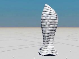 仿生材料讓建築像花一樣可以自動打開、閉合