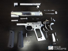 第一支使用3D 列印的金屬槍枝面世,而且完全合法