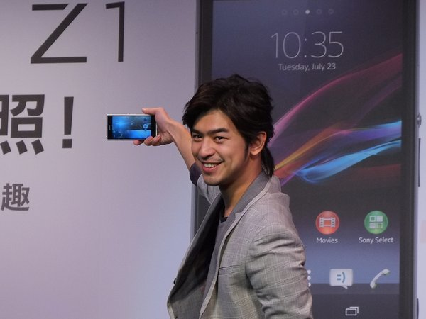 Xperia Z1 銷售破紀錄,Sony 熱門電影免費下載、陳柏霖現身代言攝影活動