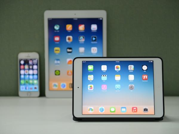 iPad mini Retina 評測:輕巧隨攜,快且清晰