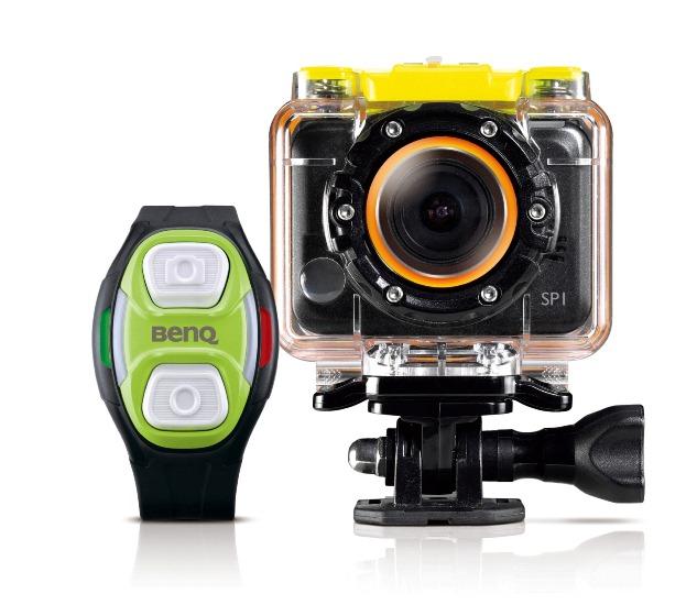 BenQ SP1運動攝影機 彈指輕鬆捕捉極限瞬間 上山下海記錄零極限