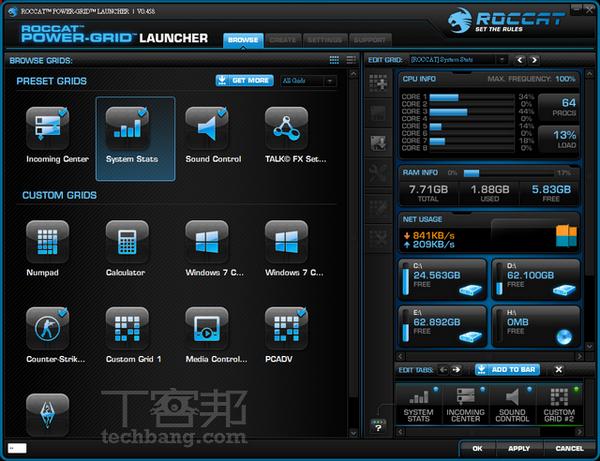 Roccat Power-Grid :手機變身多媒體鍵盤
