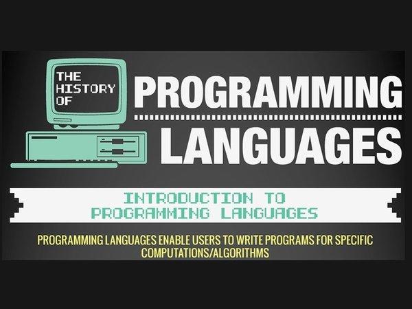 大企業都在用哪些程式語言?圖解程式語言編年史 | T客邦