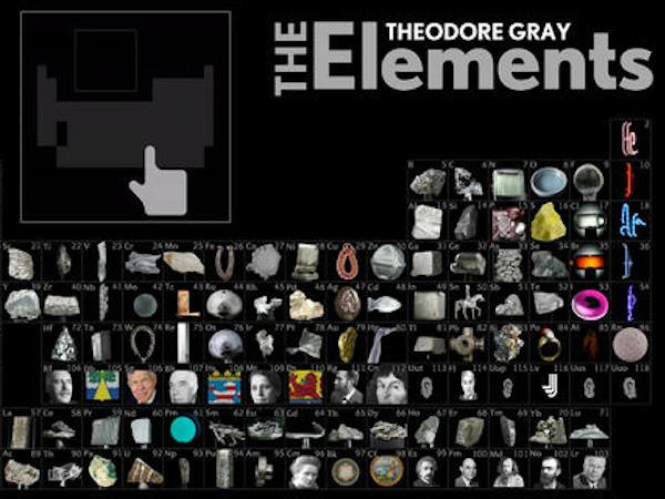 重量級元素週期表 The Elements iOS app 限時免費中