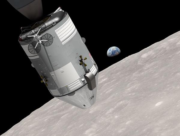 NASA 公開 地球升起 照片內幕,重回半世紀前的太空耶誕夜