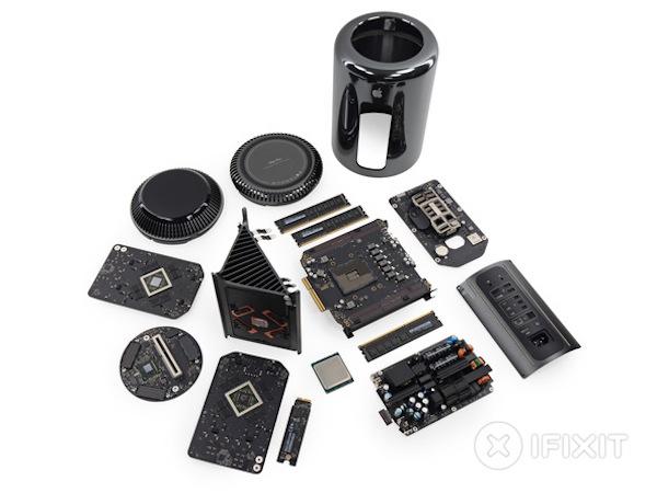 不簡單的小機身,Mac Pro 2013 ifixit 拆解秀