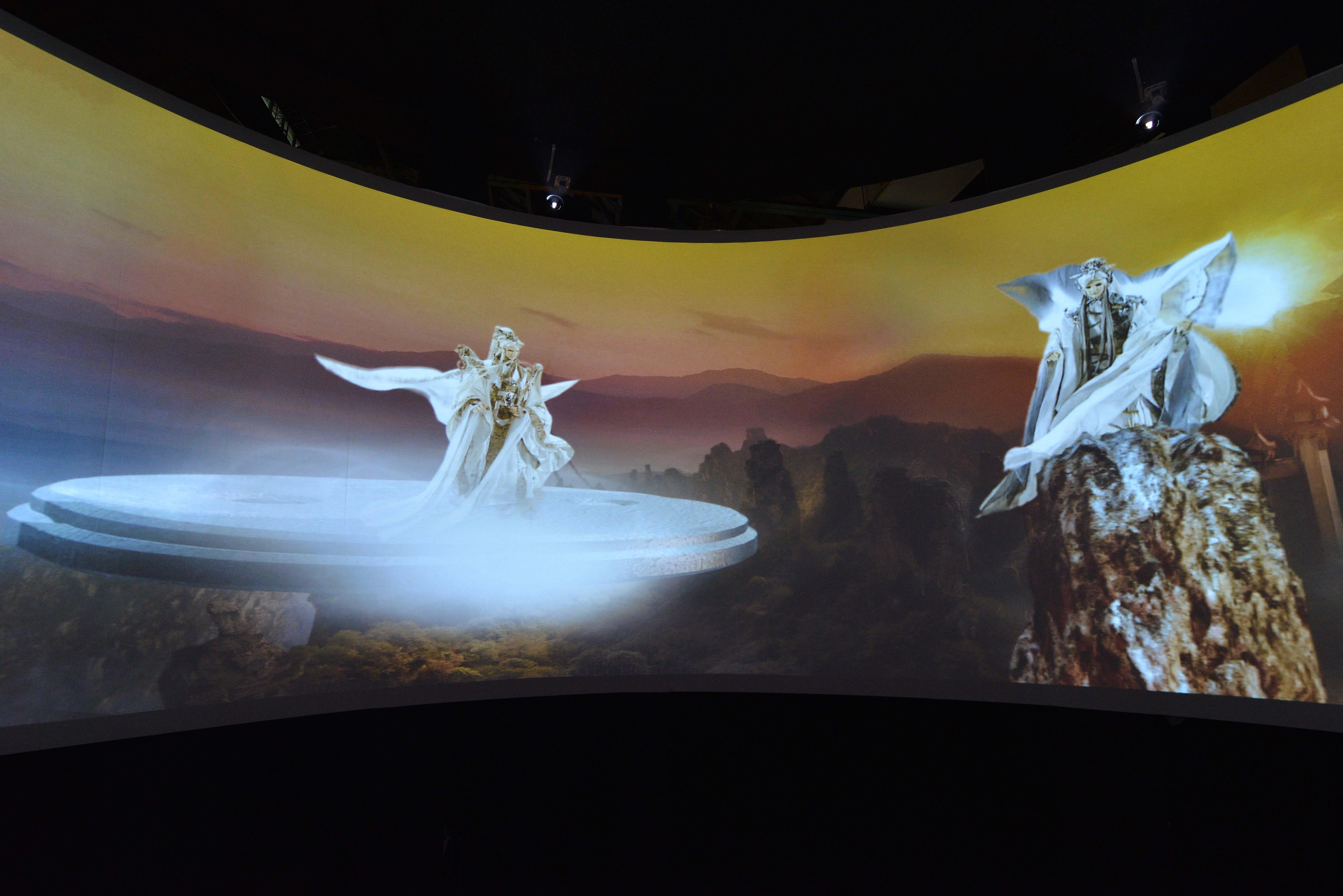 霹靂大展揭幕,Optoma整合服務再添實績 360度環型投影、3D立體、浮空等互動投影,置身異境世界