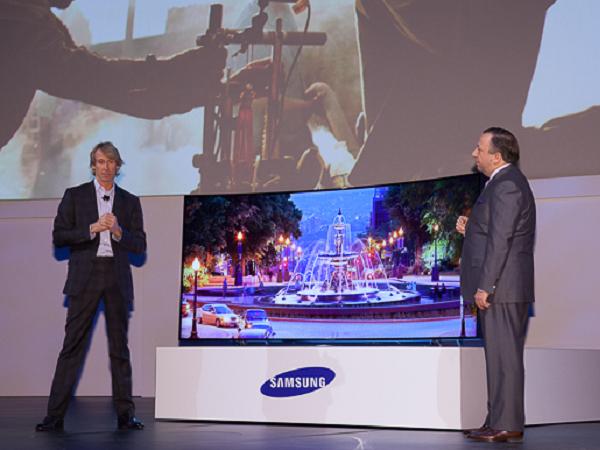 CES 2014:三星、LG 皆發表全球最大 105 吋曲面 UHD 電視、可彎曲電視