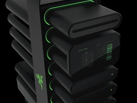 Razer 展示顛覆概念的模組化電競 PC:Project Christine