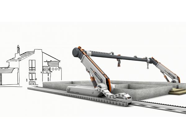 強大的3D列印技術!未來可24小時列印2500平方英呎的2層高房子!