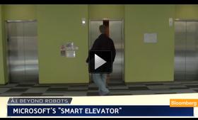 微軟研發「智慧電梯」,透過 AI 人工智慧判斷你想去哪層樓