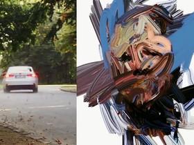 一張即時的肖像畫提醒你車速太快或開車不穩