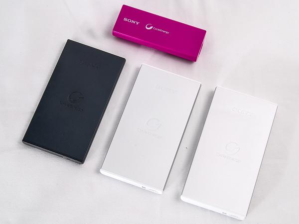 Sony CP-V3 / CP-F5 / CP-F2L / CP-F10L 行動電源實測,引領潮流的3C時尚配件