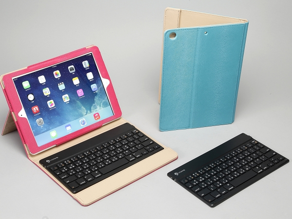 專為iPad Air 設計的i-Rocks IRC32K 無線藍牙鍵盤保護套