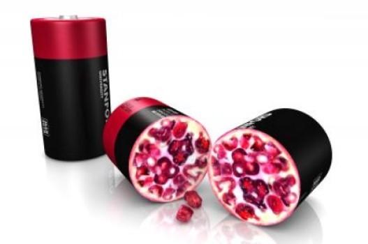石榴的啟示:矽奈米鋰電池朝著商用化又邁出了一步