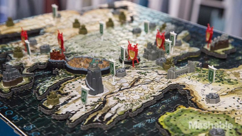 令人驚艷的《冰與火之歌:權力遊戲》3D 多層立體拼圖 | T客邦