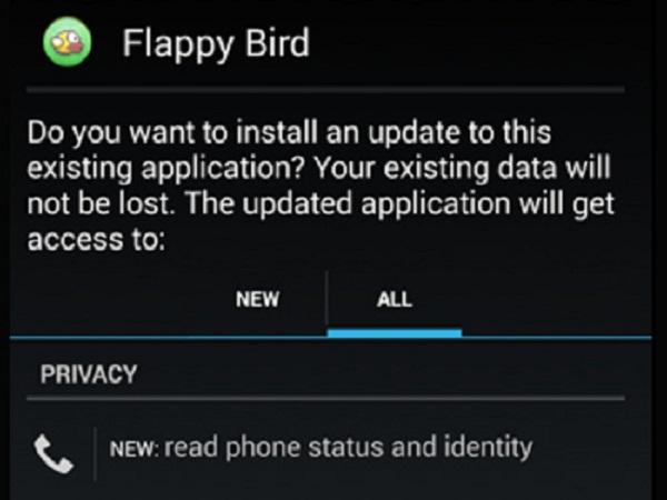 毒鳥出沒注意! Flappy Bird出現山寨版   趨勢科技提醒勿輕易安裝,以免受害