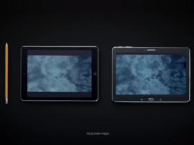 致敬兼打臉,Samsung 新廣告用筆對決 Apple