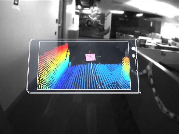 Google 發佈「Project Tango」計畫,讓 Android 智慧型手機具備 3D  感應器「看見」世界