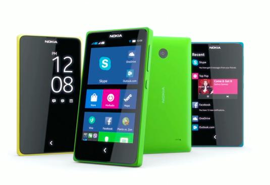 Nokia X、X+、XL 手機登場:搭載 Android 系統,但不能上 Google Play 買 App