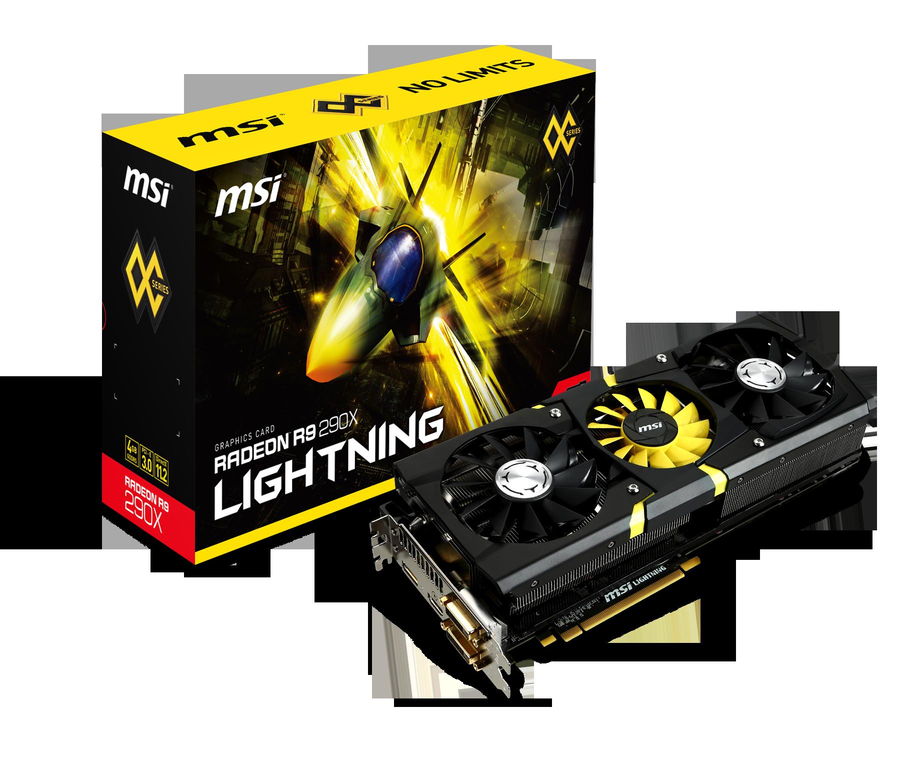 微星發布R9 290X LIGHTNING頂級顯示卡,再創極限效能巔峰。