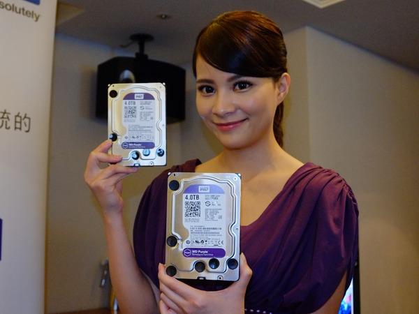 五色戰隊湊齊!WD 推出監控專用 WD Purple 紫標 3.5 吋硬碟