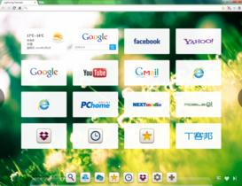 Lightning Newtab 讓你自製Chrome的新分頁,更接近個人使用習慣