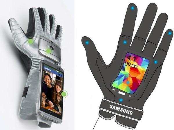 穿戴式手套風潮來襲,HTC Gluuv、Samsung Fingers 相繼發表