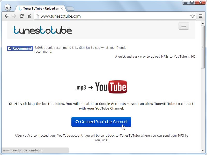 將 MP3 音樂製作成 YouTube MV