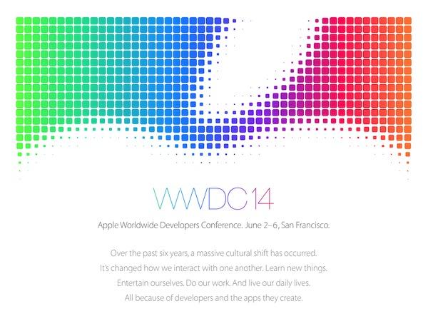 WWDC 2014 將於 6 月 2 日登場,iOS 8 準備亮相