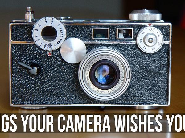 13 個攝影小撇步,相機想偷偷告訴你的悄悄話