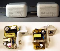 從內部零件看為何蘋果的 USB 充電器比較好