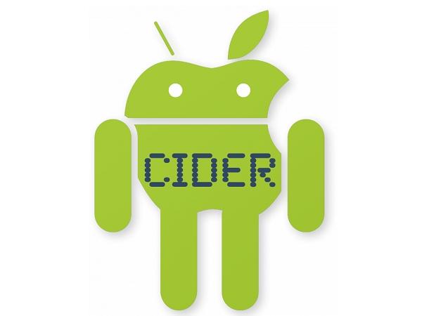 研究生調製「蘋果酒」Cider ,讓你可以在 Android 裝置執行 iOS App