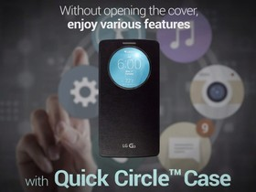 LG 發表 G3 專用 QuickCircle Case 手機套,照相、來電免掀蓋