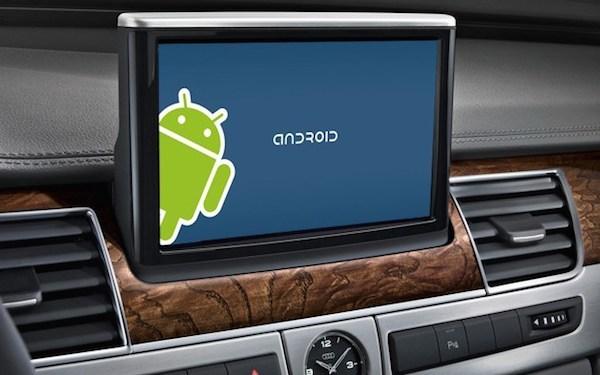 汽車版 Android 系統介面初探,語音互動是重點
