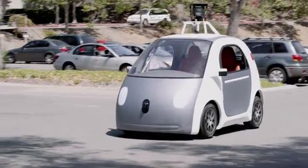 Google 公布自動駕駛車原型,沒有方向盤和踏板挑戰人類底線