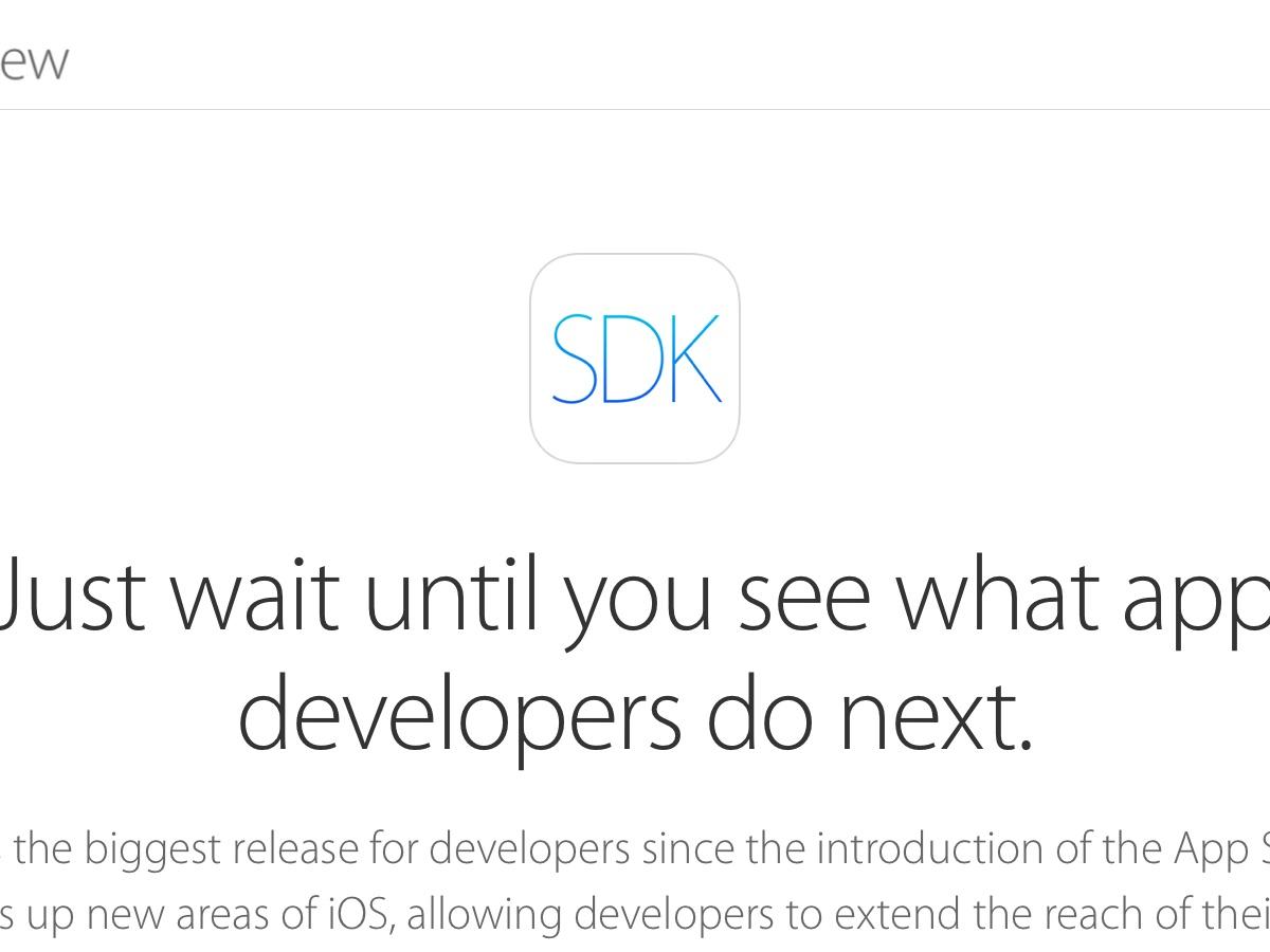 WWDC 2014:可能是 iOS 發佈以來最大的改變,iOS 8 開發者套件整理