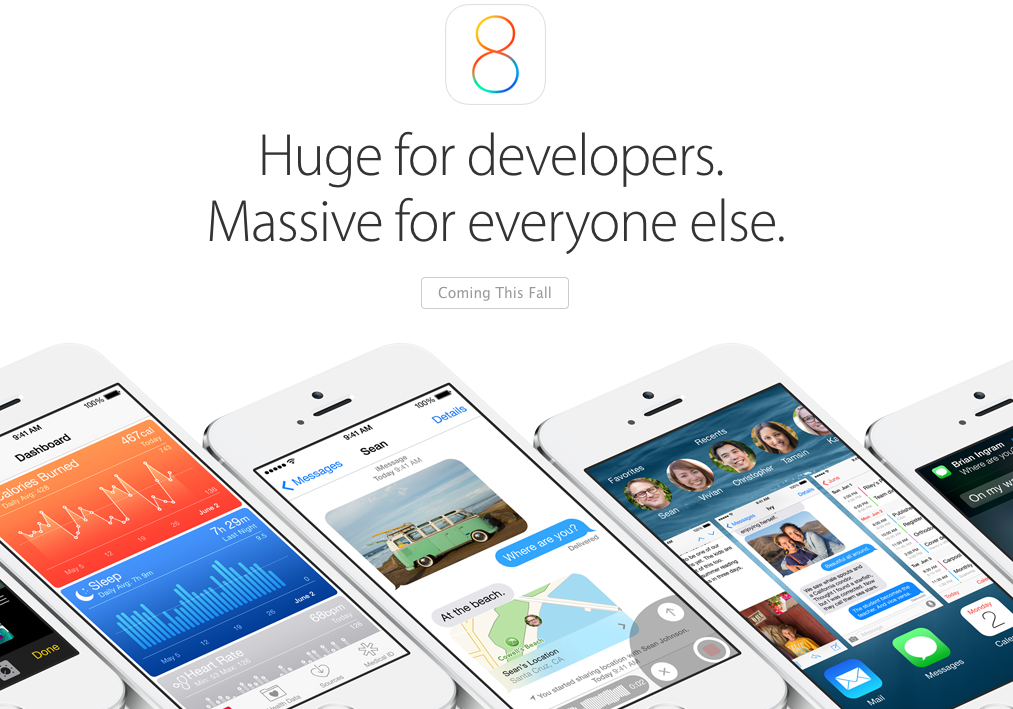 iOS 8 向 Android 致敬的 5 個新功能