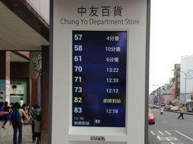 BenQ與台中市政府聯手打造友善公車搭乘環境:第一支獨立式智慧型公車站牌六月啟動!
