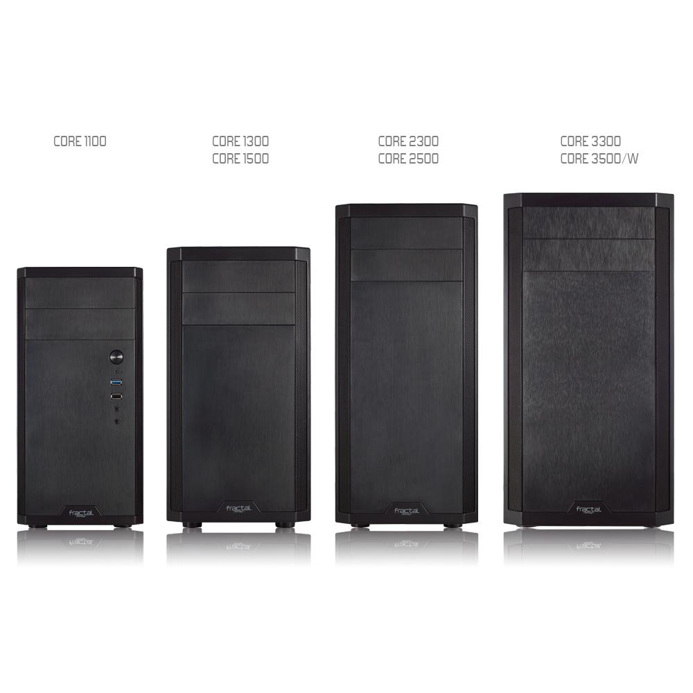 Fractal Design推出全新Core系列機殼