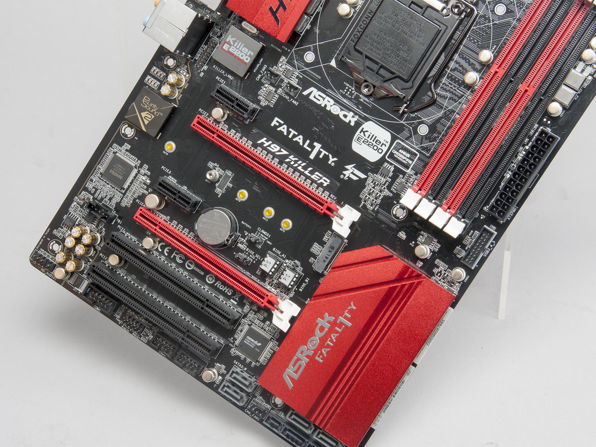 華擎H97 Killer便宜就是王道,附加功能眾多,但共享裝置、供電設計需要注意
