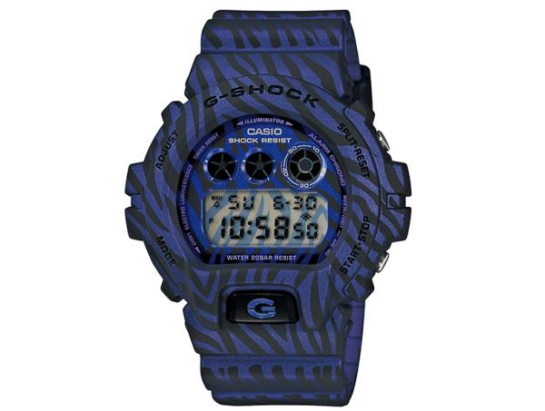 G-SHOCK狂野斑馬迷彩時計,再掀經典狂潮 !DW-6900ZB系列玩酷夏日街頭時尚,震撼視覺感官新體驗!