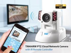 康博科技推出TN900RW:全球第一個可控制家電的網路攝影機!