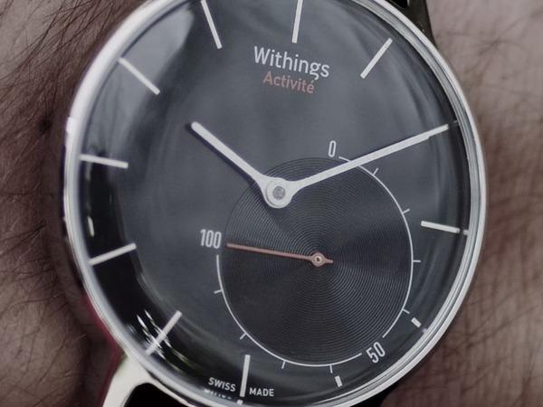 復古至上!Withings 打造可持續運作 1 年的 Activité 智慧手錶