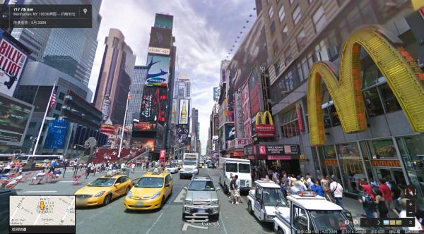 Google街景玩法再進化,用手指找路逛世界
