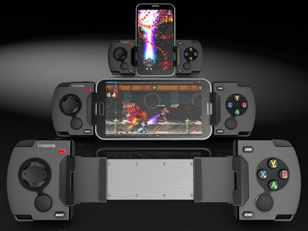 i-Rocks 遊戲手把Gamepad G01,可支援Android、iOS、PC 平台