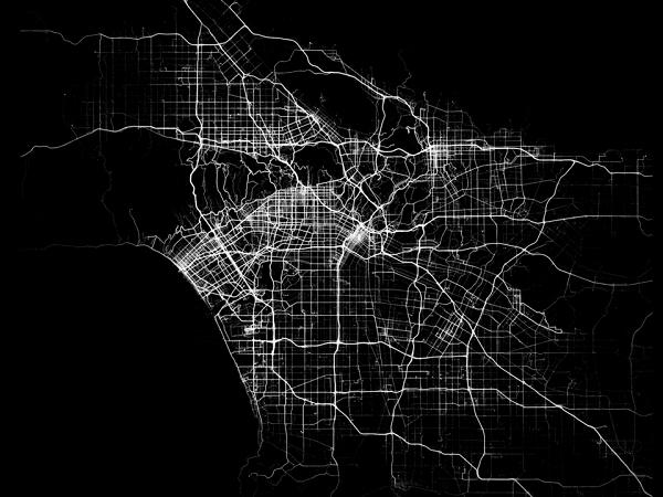 令人驚訝的畫面!追蹤應用程式 Human 用資料「繪製」城市地圖