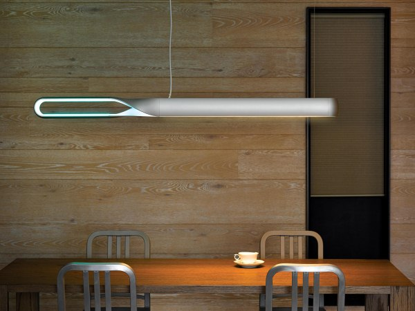 QisDesign 2014年度新品 Infinito Light「回燈」  以反覆循環、周而復始的概念傳達「∞」無限之意  運用LED點狀漫射光學設計 可調式亮度與情境光色,呈現變化萬千氛圍