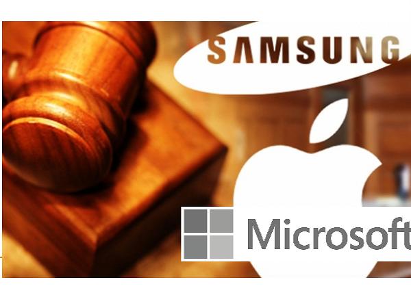 這回輪到微軟控告三星,因為三星不再按時交專利費