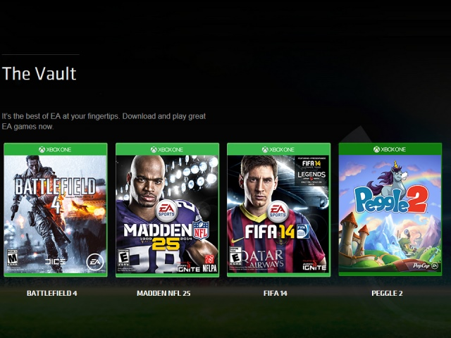 EA確認,Access中的遊戲無下載時限